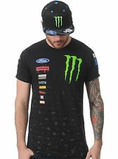 Hoonigan Black Monster Ken Block Mechanics T-Shirt