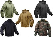 Military Police Security Special-Ops Tactical Soft Shell Waterproof Jacket Coat