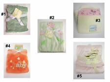 Infant Baby Boys Girls Blanket Very Soft Fleece Embossed Velboa SZ:30X40 Northpo