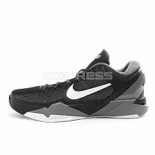 Nike Zoom Kobe VII X [488370-001] Basketball 7 Bryant Black/White-Wolf Grey