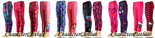 2 - PACK Girls Winter CHARACTER Leggings Kids & Toddlers Tights Age 2-12 Years
