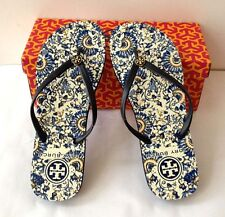 AUTHENTIC tory burch flip flops RARE