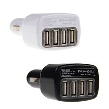 4-Port USB Car Charger Power Adapter For iPhone 5 6 Samsung Galaxy S5 Note 4 3 2