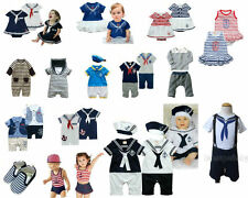 Baby Toddlers Sailor Marine Outfit, Party Special Day Event Dress, 3M - 5T