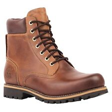 Men's Timberland Earthkeepers Rugged 6'' Waterproof Boot Copper Brown 74134