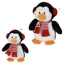 Grriggles Peppermint Pals Penguin Winter Season Puppy Plush Dog Toy