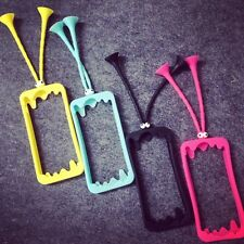 New Bumper Frame Soft Silicone Cute Grasshopper Case Cover for iPhone 5/5S/6