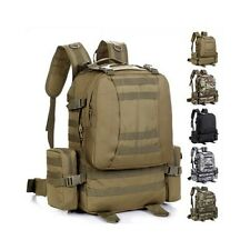 Backpack Outdoor Military Tactical Gear Gym Camp Hiking Removable Pocket Bag 50L