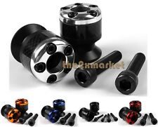 5 Color New 8mm Carbon Fiber Swingarm Sliders Spools For BMW S1000RR 09-2013