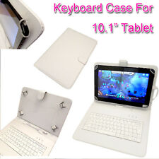 """PU LEATHER KEYBOARD CASE COVER FOR Medion MD98382 Lifetab E10310 10.1""""  Tablet"""