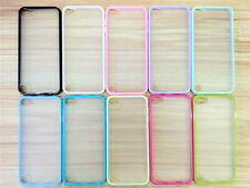 New Rubber Bumper Frame + Hard Matte Case back Cover for Ipod Touch 5 5G