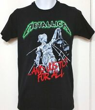 ..And Justice For All...*METALLICA*. Black Graphic T- Shirt.