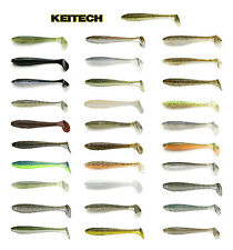 "KEITECH FAT SWING IMPACT SWIMBAIT 3.3"" (8.4 CM) 7 PACK select colors"