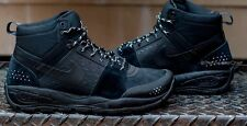 NIKE ACG ALDER MID MENS HIKING TRAIL ATHLETIC TRACTION BOOT BLACK 599660 003