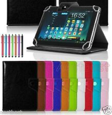 "Quality Leather Case Cover/Pen For 10.1"" Proscan PLT1052 PLT1066G Tablet WN8"