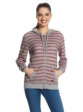 Roxy Juniors Beauty Stardust Striped Zip Up Hoodie