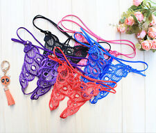 Sexy Lingerie G-string  Women Thong Diamond Panties Briefs Underwear Crotchless