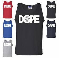 DOPE Diamond Tank Top Swag Swagg YMCMB OFWGKTA TAYLOR GANG Workout Gym Tank Top
