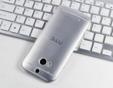 Ultra-thin 0.3MM Transparent TPU Silicone Case Cover For HTC Various Phone