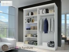 Bedroom Wardrobes MULTI,2 sliding doors,Width 183 ,perfect interior,many colours