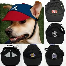 Pet Cap hat for dogs Official NBA NFL 49ers Raiders Lakers Kings K9 Sports