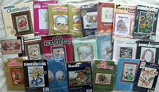 "Needlepoint - Cross Stitch - Embroidery - Crewel Small  Kits 5"" X 7""  YOU CHOOSE"