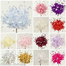 Silk Pearl Baby's Babies Breath Flower Spray Bunch of 12 Craft Cake Decorations