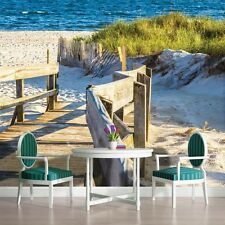 PHOTO MURAL WALLPAPER WALLCOVERING NEW HOME SEA BEACH PIER DECOR VIEW 1214VE