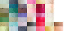 """100% PURE SILK CHARMEUSE FABRIC 45"""" DRESSMAKING SEWING 44 COLOR BY THE YARD"""