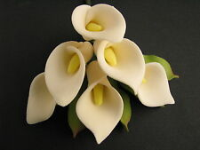 Cake Flowers/Gum Paste Flowers/Sugar Flowers/Gum Paste Calla Lily Flowers