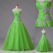 New Style2015 A line Prom Dress Quinceanera Pageant Party Evening Dresses SZ6-16