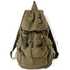 Vintage Casual Canvas Travel Backpack Rucksack Satchel School Bag Unisex CHEAP