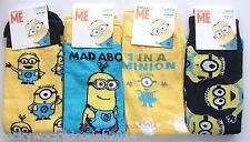 Despicable Me Minion Minions mens novelty socks size 6-11 ideal gift!