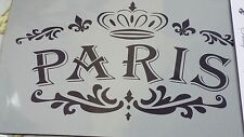French Style Stencils For Furniture  Shabby Chic Stencils - Batch 1 - A4 SIZE
