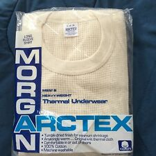 ARCTEX J.E. MORGAN cotton HeavyWeight THERMAL Underwear LONGSLEEVE SHIRT  USA