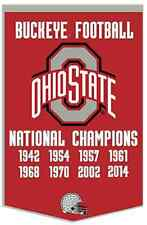 2014 Ohio State College Football Playoff National Champion Dynasty Banner..ORDER