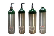"""CATALINA MEDICAL OXYGEN TANK """"D"""" SIZE 15 CUBIC FEET MADE IN USA SHIPS EMPTY"""