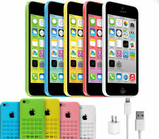 Apple iPhone 5c 16GB (Sprint) A1456 Smartphone w/ Accessories + Case CLEAN ESN
