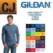 Gildan 2400 Ultra Cotton® 6 oz. Long-Sleeve T-Shirt S-5XL, 30 Colors