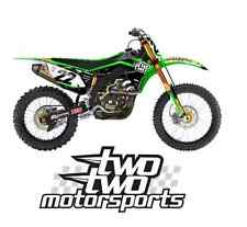 2015 TWO TWO CHAD REED TEAM KAWASAKI Graphic Kit W/Your name & number motocross