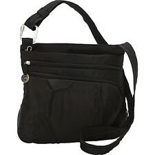 Travelon Anti-Theft Convertible Crossbody w/Power Pack Cross-Body Bag NEW