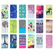 Leather Wallte Folding Housing Shell Cover Case Skin For iPhone 4S 5C 5S Phone