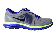 056e3a85b6 New listingNIKE DUAL FUSION RUN Mens Running Shoes GRY/ HYPER BL/ VOLT/BLK  Size 9.5