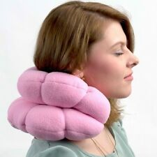 Total Twist Travel Pillow Soft Neck Back Head Support Versatile Comfort Cushion