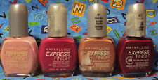 Maybelline Express Finish 60 Second Nail Color   *23 Color Choice's*  You Choose