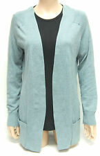 Kersh Ladies Cardigan - Smoke Blue / Green Cardigan - Buttonless - SM M L XL