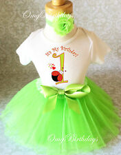 green red Ladybug Lady Bug Baby Girl 1st First Birthday Tutu Outfit Shirt Set