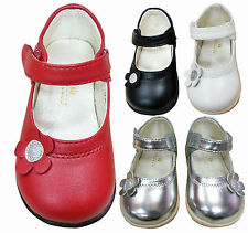 BABY GIRLS KIDS CHILDRENS CASUAL VELCRO SHOES SIZE