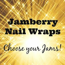 Jamberry Nail Wraps! ~ 1/2 Sheets ~ Choose Your Favorite Jams!