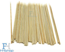 "Bamboo Skewers 6"" 7"" 8"" 10"" Chocolate Fountain Fondue BBQ Fruit Kebabs Satay"